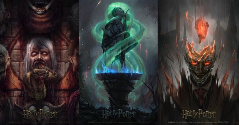 Harry Potter Movie Posters Have Been Recreated And Will Scare You For Days