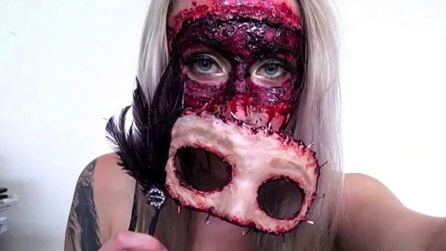 Flesh Masquerade Mask