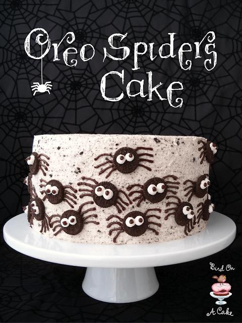 Oreo Spiders Cake