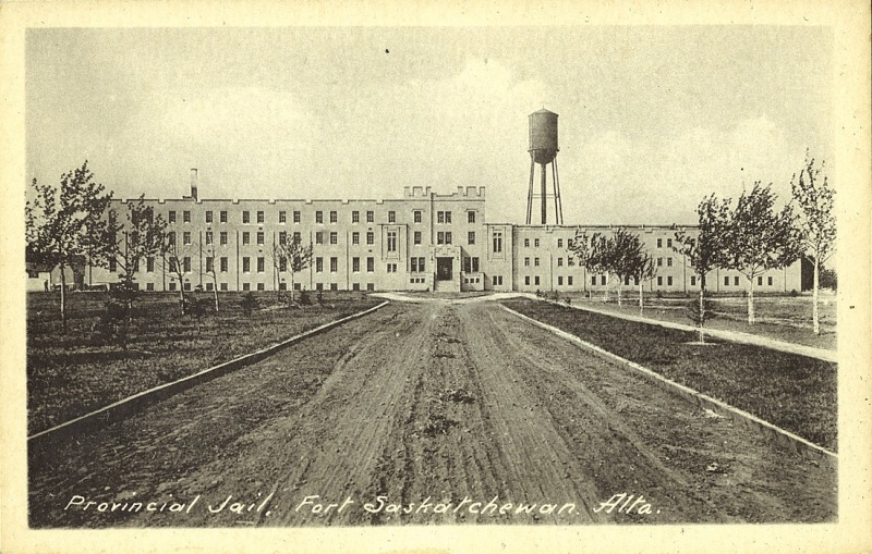The Fort Saskatchewan Prison