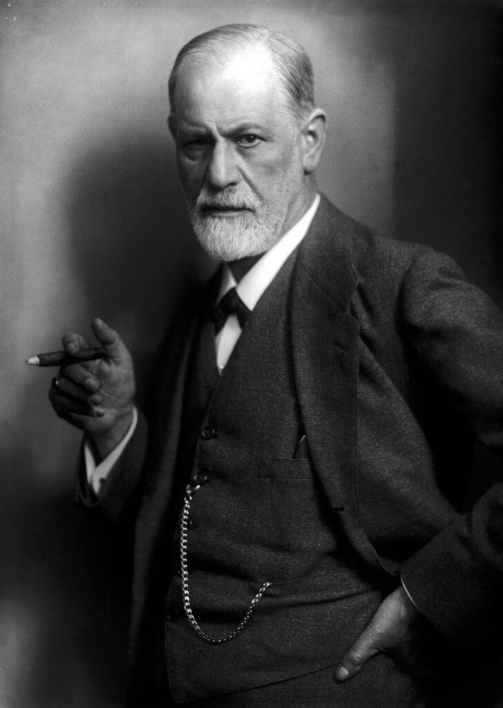 Dr. Langsner worked with Sigmund Freud, pictured above