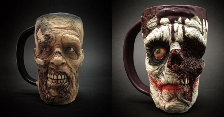 Love Zombies? Check Out These Coffee Mugs!