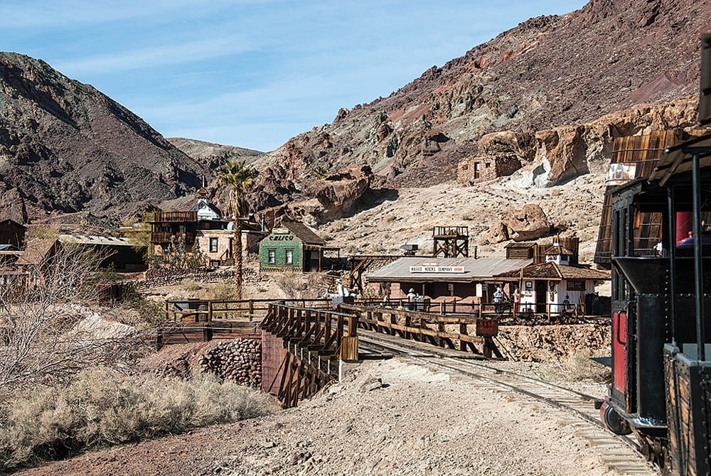 Ghost Towns in South California