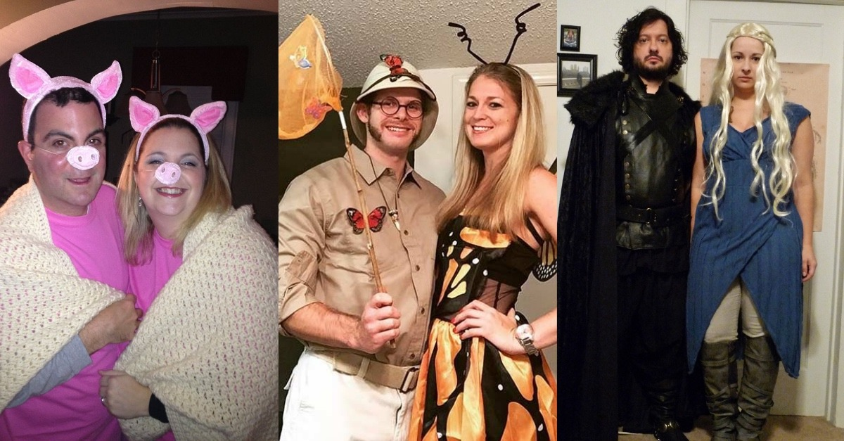 50 creative halloween costumes for couples that you can try