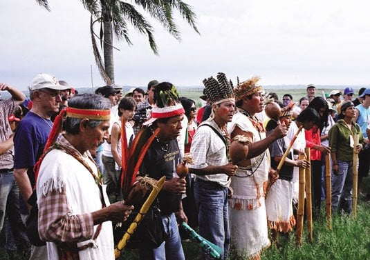 The Acapocúva-Guaraní People