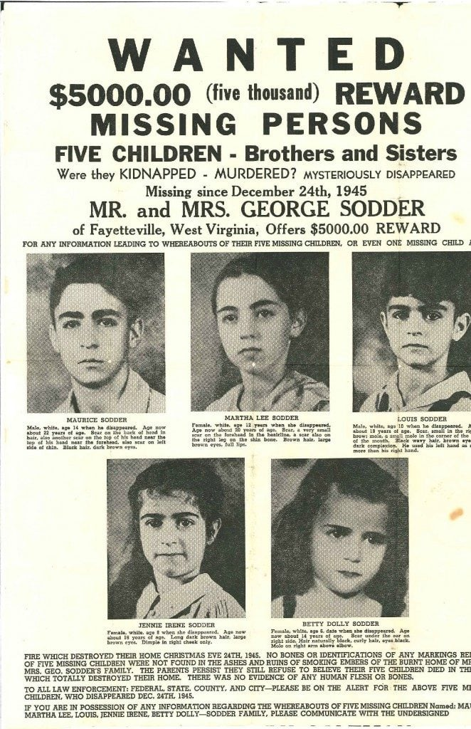 The Sodder Children Disappearance of 1945