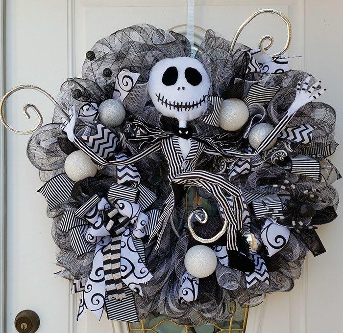 Creepy Halloween Wreaths