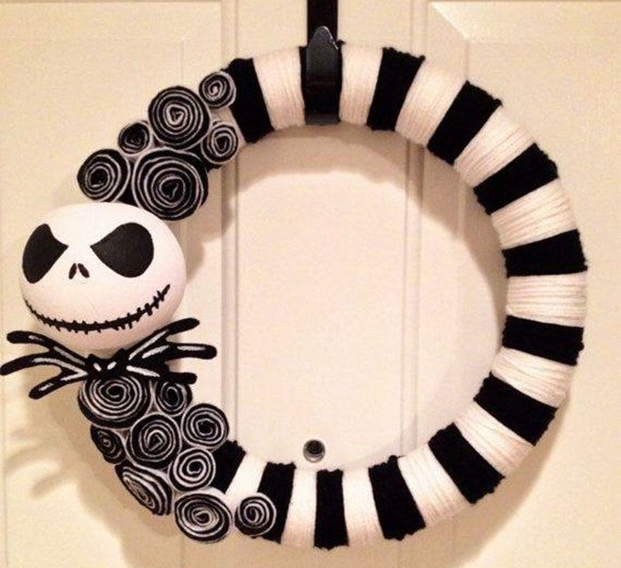 Creepy Jack Skellington