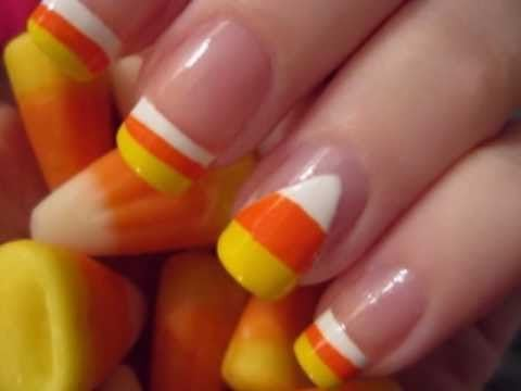 halloween creative nails art