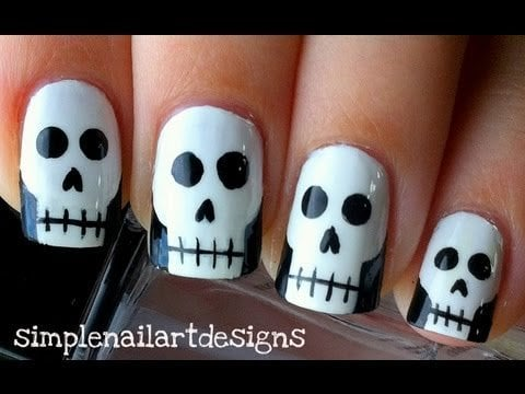 creative nail art ideas for halloween