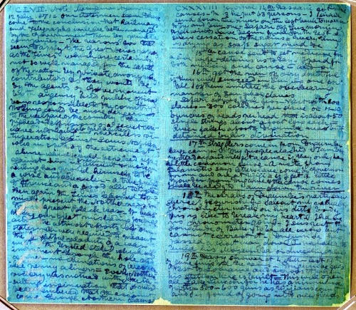 Illegible Diary of David Livingstone