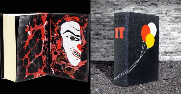 1st Edition 'IT' Books In Limited Edition Rebound for Awesome Gift Set