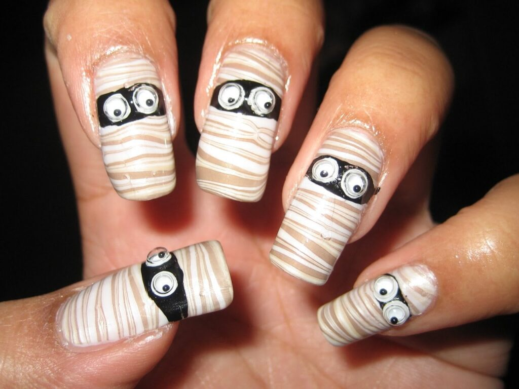Nail art Designs for halloween 2017