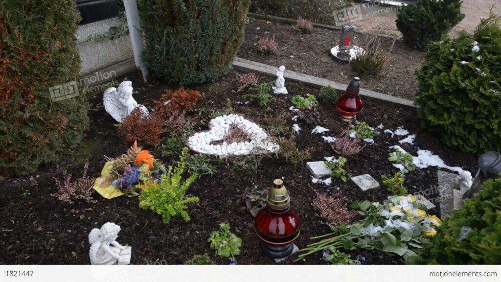 Anneliese's grave