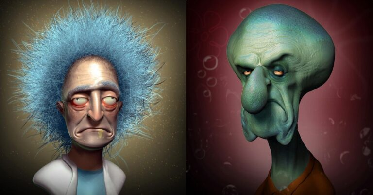 10+ Pop Culture Icons Re-imagined As Real Life Characters To Give You Nightmares
