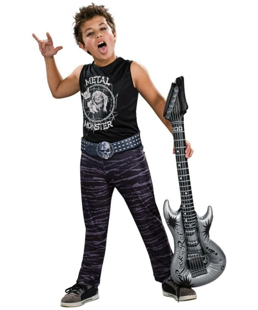 80u0027s Rocker  sc 1 st  Freaked & 100+ Homemade Halloween Costumes for Kids | Costumes for 2017