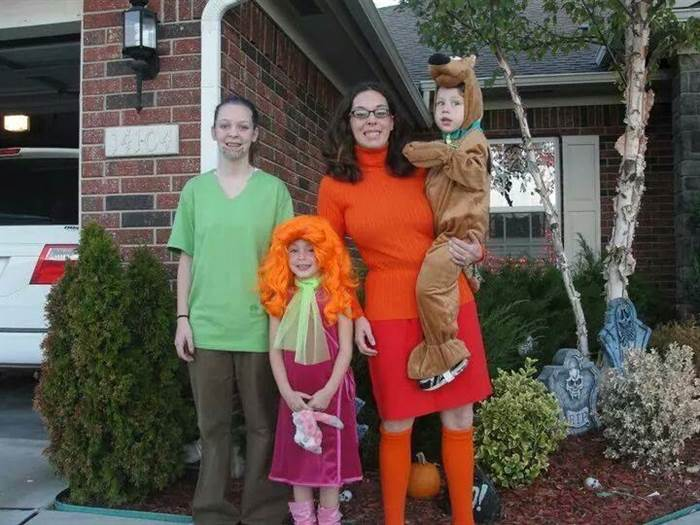 The Scooby Doo Themed Costumes
