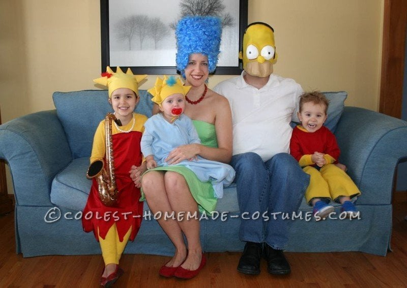 Families Costumes For Halloween 2017