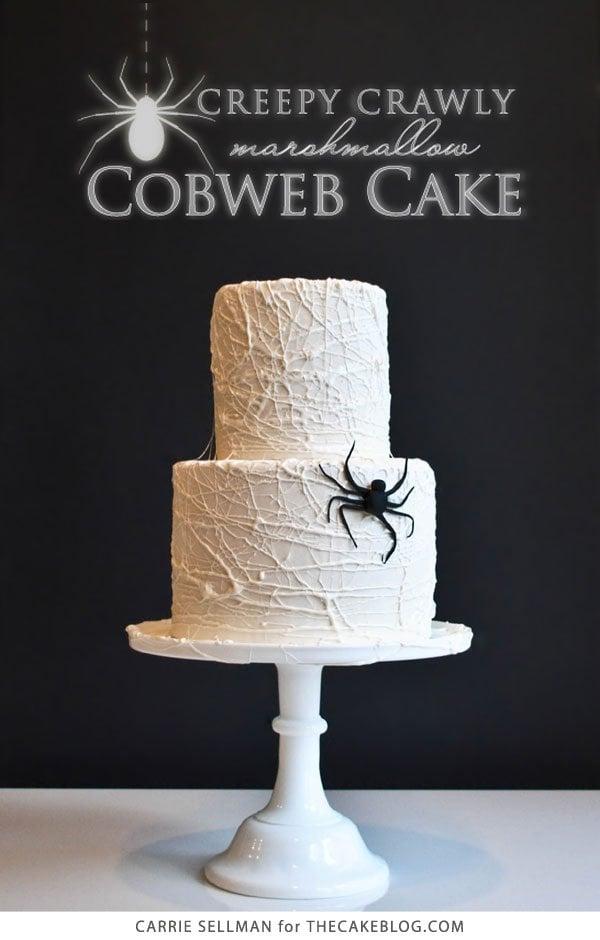 Marshmallow Cobweb Cake