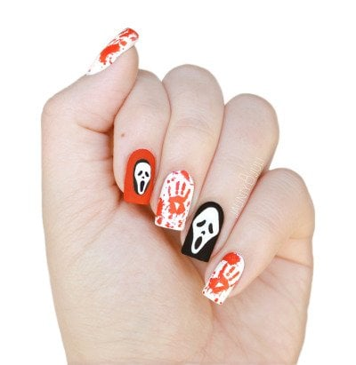amazing halloween nail art