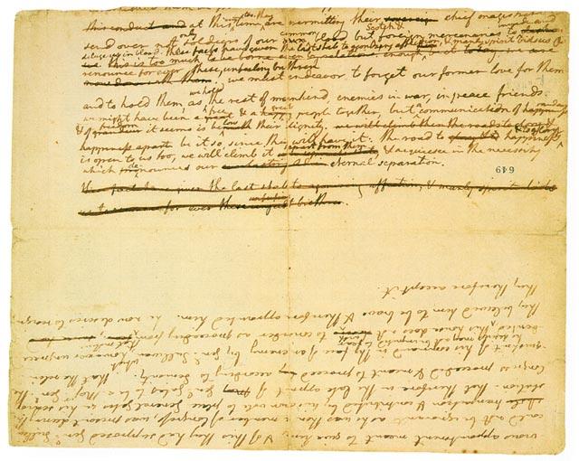 Thomas Jefferson's Original Declaration of Independence