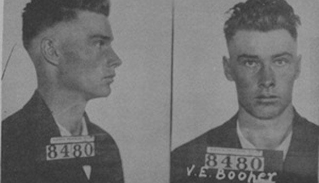 Vernon Booher's mugshot