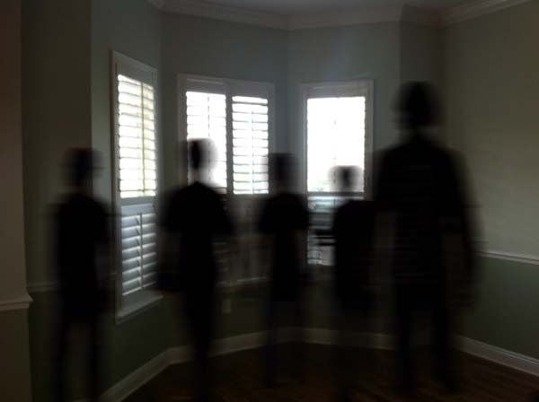 Shadow People Inside A House