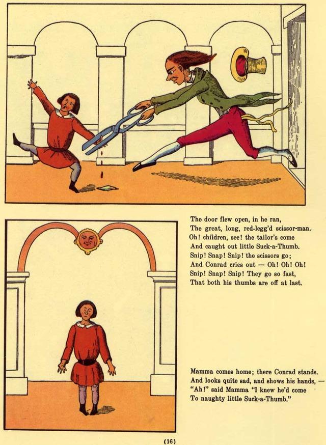 Die Geschichte vom Daumenlutscher