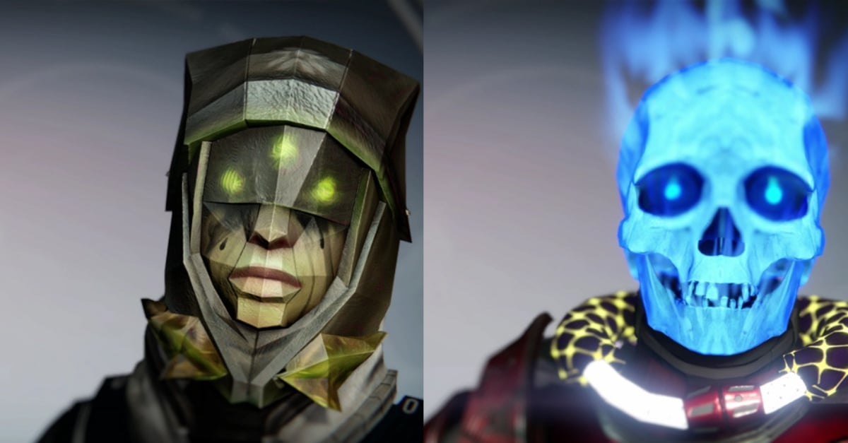 The Destiny Halloween Masks Collection Is Awesome In Every Respect