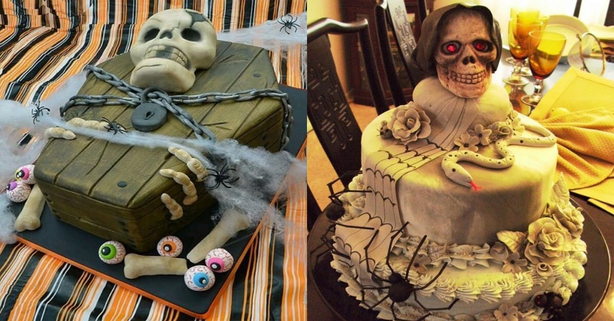 Remarkable 10 Creepy Halloween Cake Ideas Thatll Make Your Halloween More Personalised Birthday Cards Epsylily Jamesorg