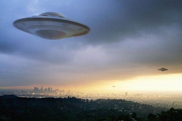 UFO Siting In The Sky