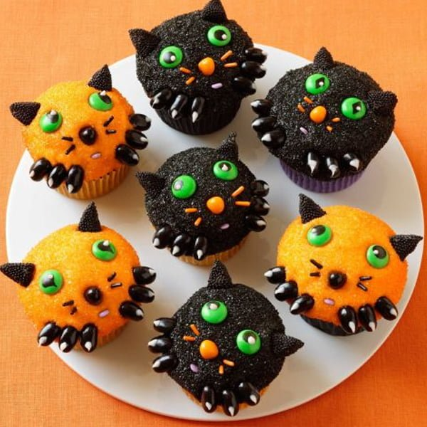 cupcake for halloween 2017