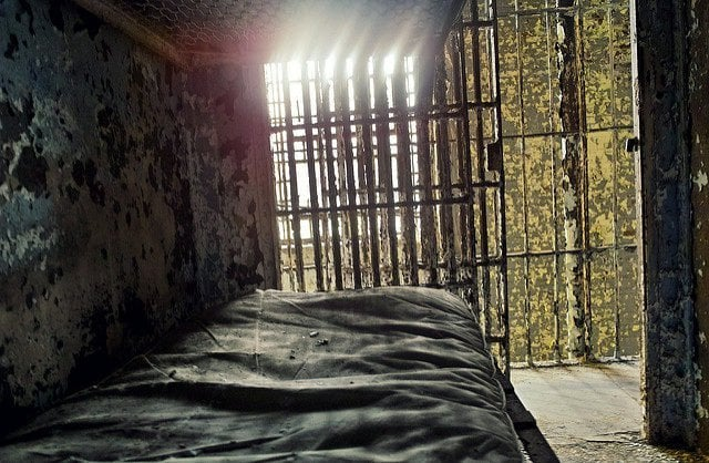 Two inmates each or more were housed in a single cell at the same time