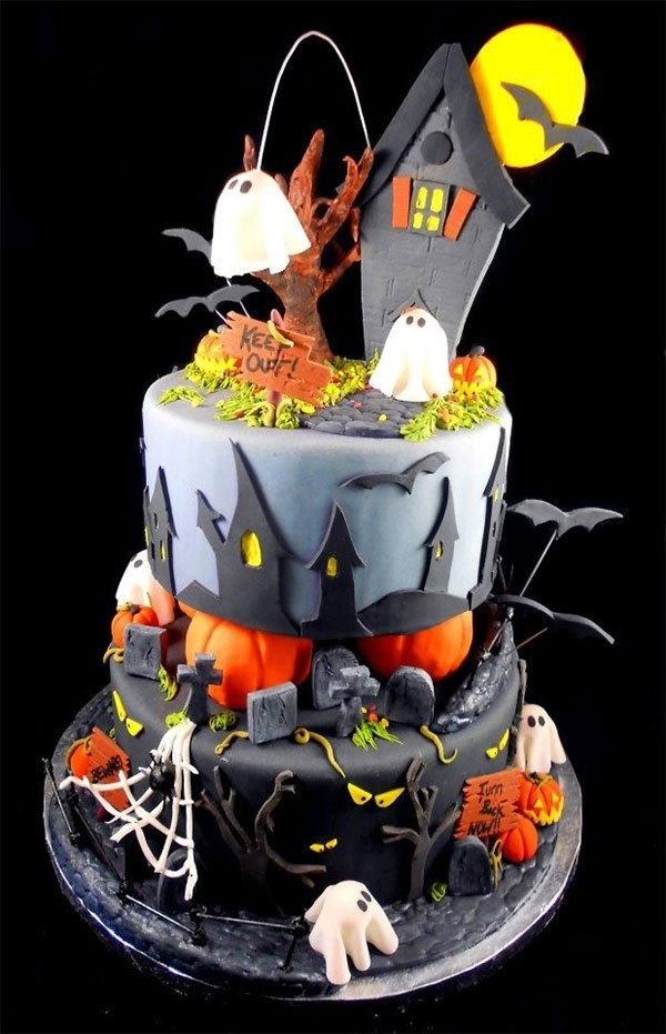 Creepy Halloween Cake Ideas