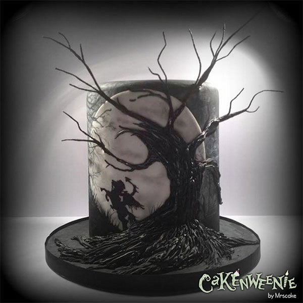 Easy to make halloween cakes