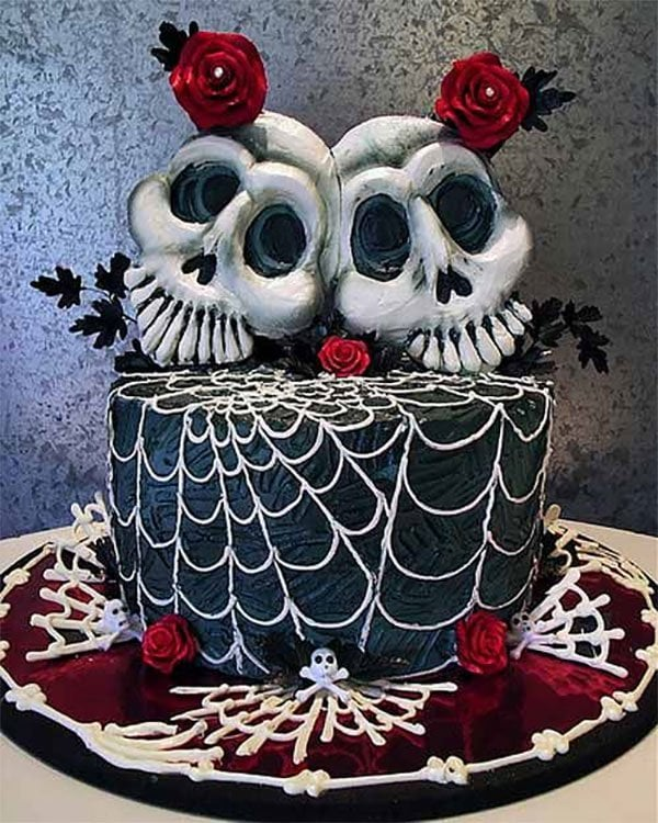 Creepy Cakes for Halloween