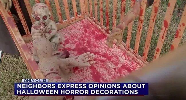 Demonic Bloody Crib