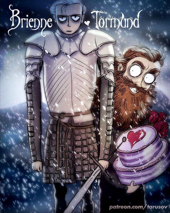 Brienne and Tornund