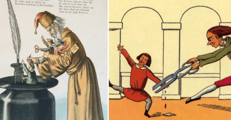 This Creepy AF German Children's Book Is Pure Nightmare Fuel