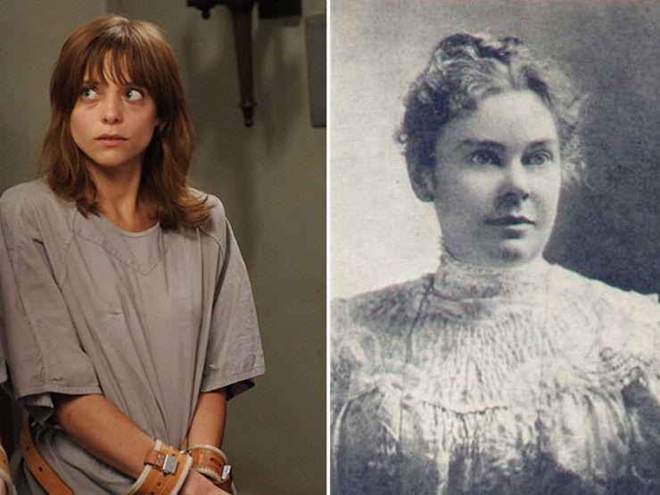 Grace Bertrand As Lizzie Borden