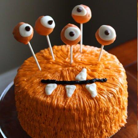 Homemade Halloween Cakes