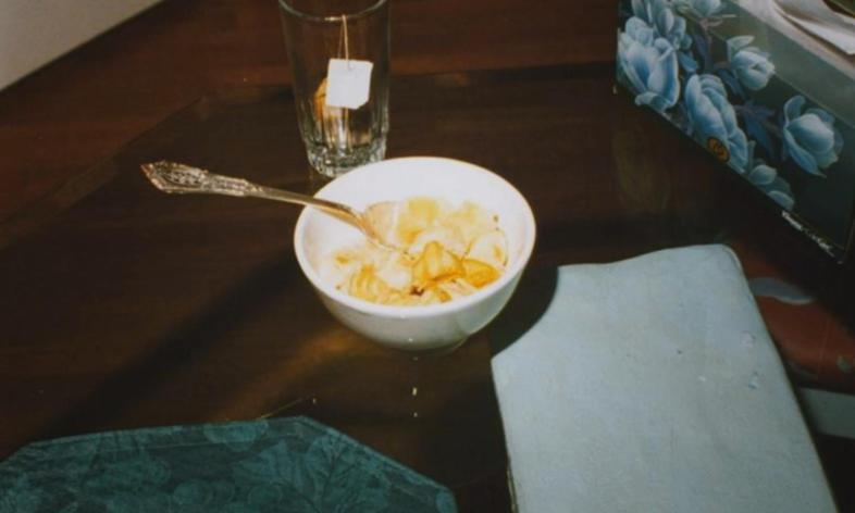 The photographs of the Ramsey household showed a bowl of pineapple