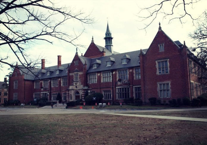 The Red Lady of Huntingdon College