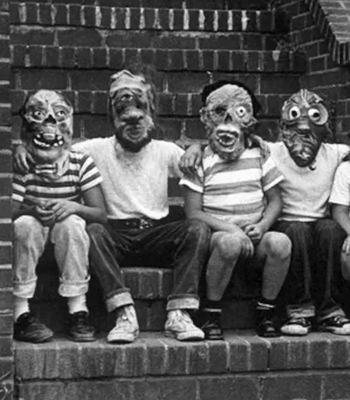 Halloween Vintage Masks 2017