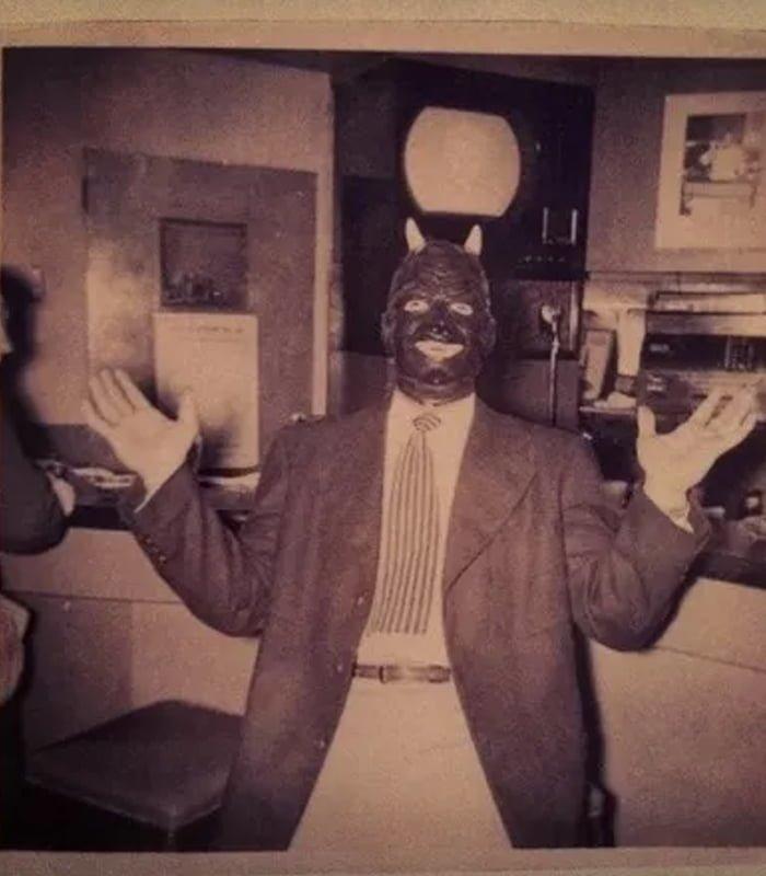 Halloween Vintage Masks