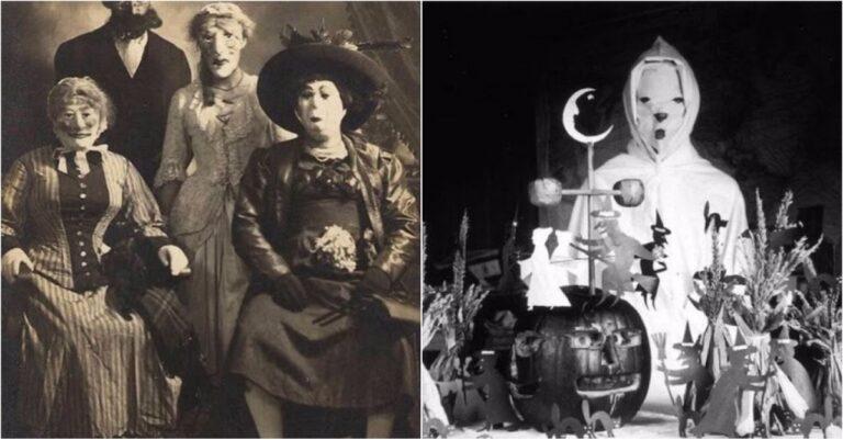 10+ Nightmarish Vintage Halloween Costumes From The 1930s