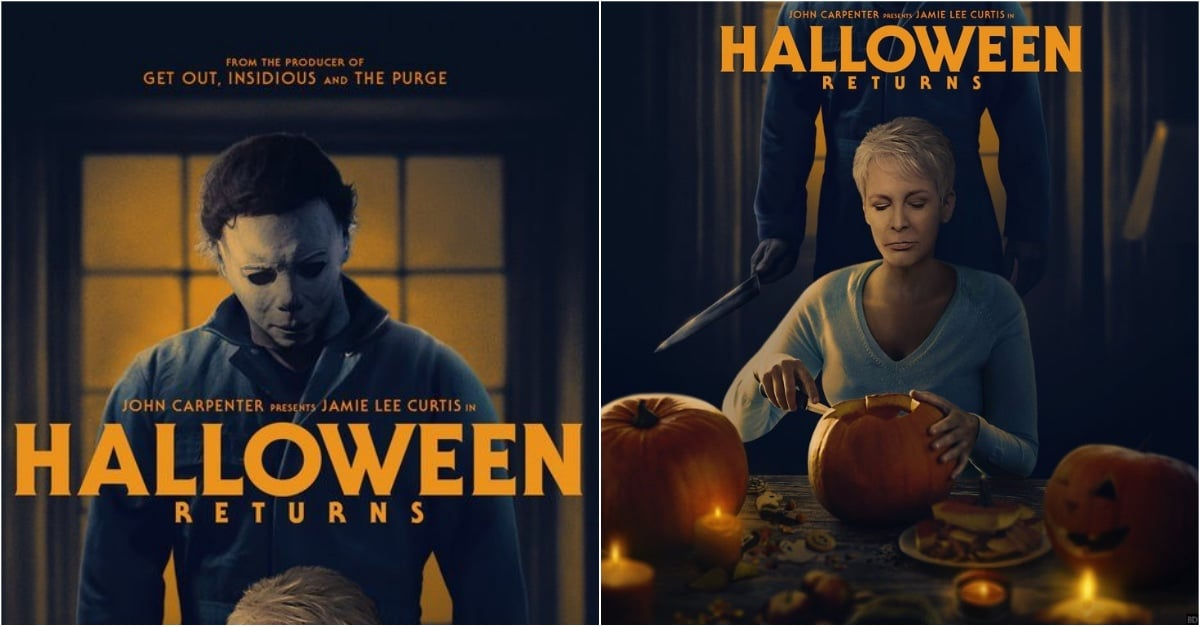 """Laurie and Michael Reunited In Fascinating """"Halloween"""" Fan-Made Poster"""