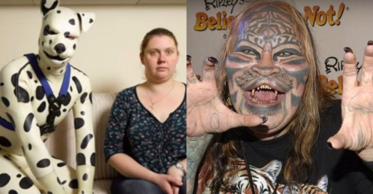 10+ People Who Transformed Themselves Into Animals