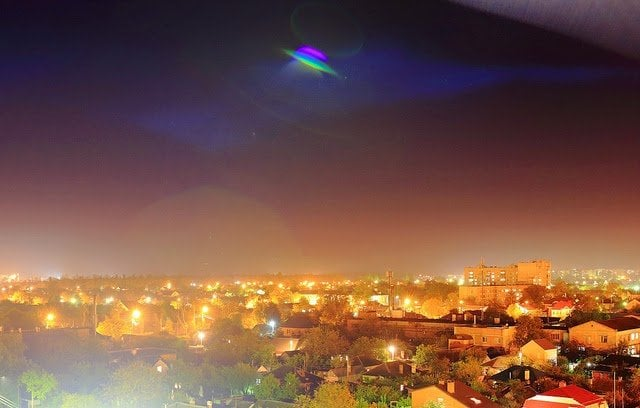 UFO cases have also been reported in the area