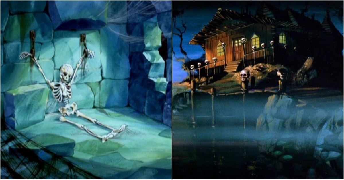 10 Delightfully Creepy Background Paintings Of Scooby Doo You